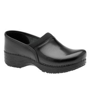 ABEO Ellie Neutral Black Leather Clogs SZ 6.5